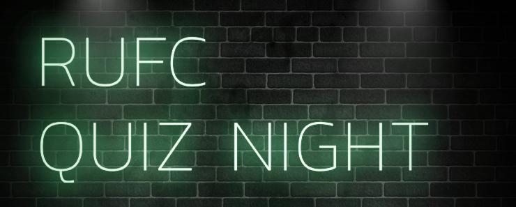 RUFC Quiz Night